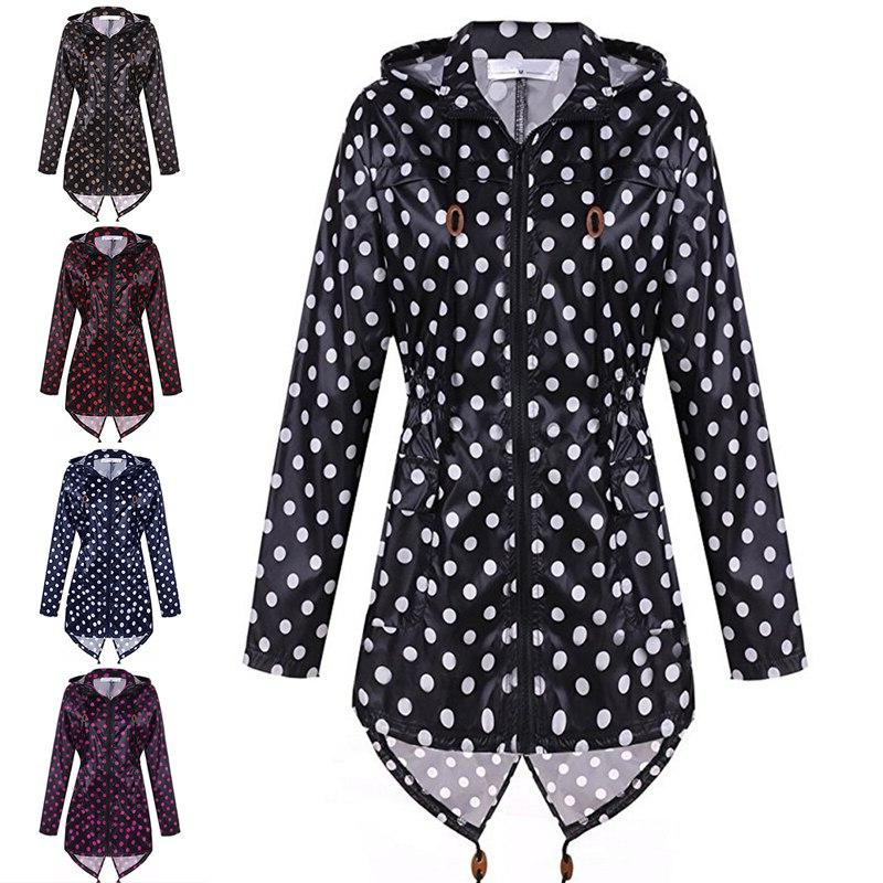 women waterproof raincoat hooded coats font b