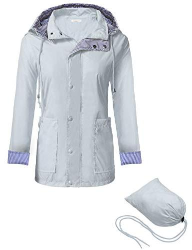 Zeagoo Packable Outdoor Hooded Jacket,Style 1
