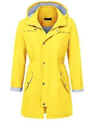 womens lightweight hooded waterproof active outdoor rain