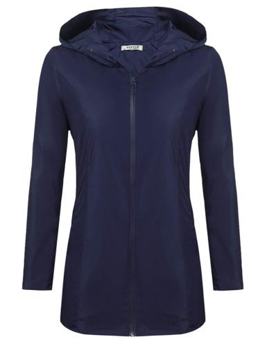 womens lightweight waterproof anorak rain jacket