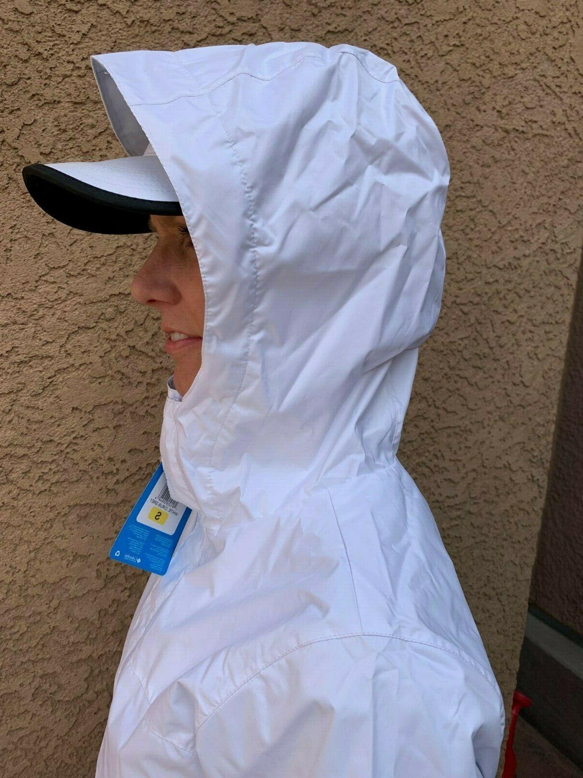 Columbia Womens Mesh-Lined Waterproof Rain M L