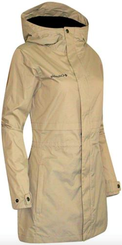 Columbia Womens Shine Struck II Rain Jacket Plus sizes 1X 3X