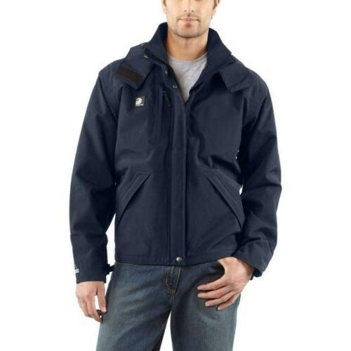 work jacket waterproof breathable rain mens xx