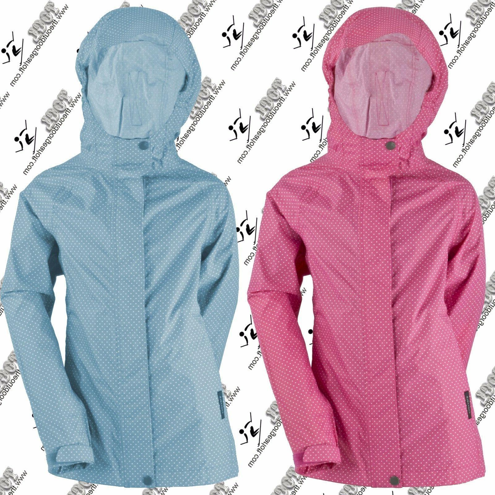 WHITE SIERRA X2226Y NEW YOUTH GIRLS POLKA DOT TRABAGON RAIN