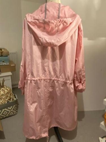 Yours Plus Size 22/24 Baby Light Rain Jacket