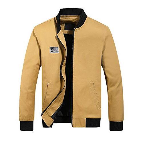 zipper trench coat men winter warm jacket