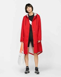 Nike NikeLab Collection Women's Parka Rain Jacket Crimson Re
