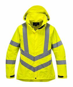 Portwest LW70 Ladies Breathable Safety Work Rain Jacket in R