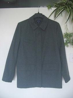 Lands End Men's Wool Coat Outerwear Jacket Parka - NEW MT