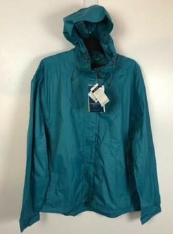 Large White Sierra Men's Trabagon Hooded Rain Shell Lightwei
