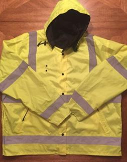 LIBERTY Class 3 Level 2 Safety Yellow Reflective Reversible