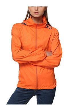 Lanbaosi Women's Lightweight Jacket UV Protect+Quick Dry Win