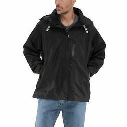 RefrigiWear Lightweight Rain Jacket - Waterproof Raincoat wi