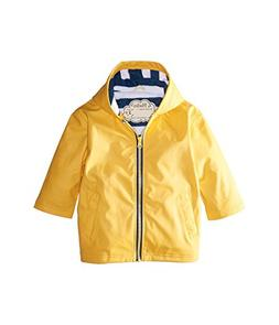 Hatley Boys' Little Splash Jacket, Classic Yellow, 6