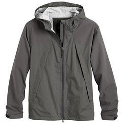 prAna Living Men's Inception Jacket, Cargo Green, Large