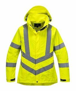 Portwest LW70 Ladies Hi-Visibility Breathable Rain Jacket AN