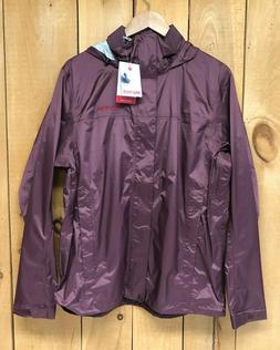 Marmot Men's Precip Eco Waterproof Rain Jacket Burgundy Size