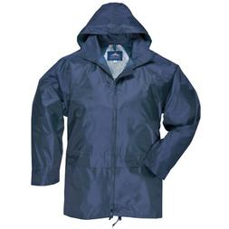 Portwest Men's Classic Rain Jacket Navy M