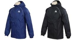 Adidas Men Core 18 Rain Running Jacket Black Blue Windbreak