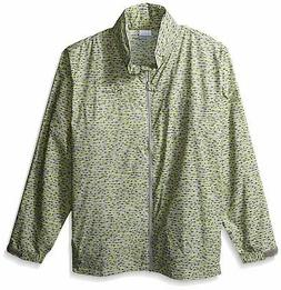 Columbia Men Jacket Green Size 3XL Big & Tall Glennaker Rain