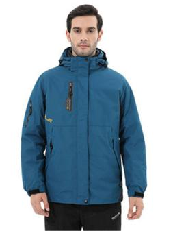 Men Jacket Waterproof Camping Hiking Coat Rain Fishing Sport