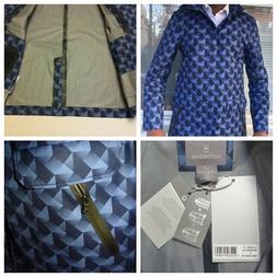 Victorinox Men L Insulated Jacket  Liner Blue Water-Repellan