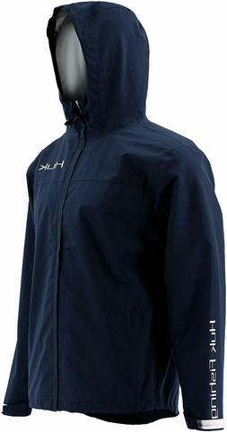 Huk Men's 3XL XXXL Cya Packable Rain Jacket Color Navy H4000