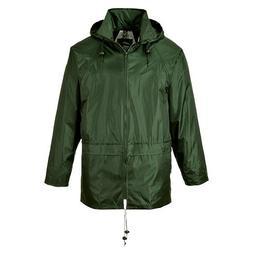 Portwest Men's Classic Rain Jacket 4XL  - Olive