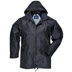 men s classic rain jacket black mens