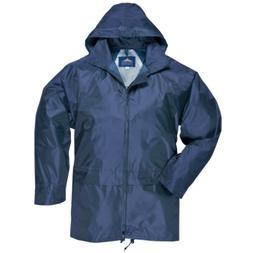 Men's Classic Rain Jacket Free choice colors 100% Nylon PVC