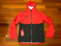 Men's The North Face Dryvent Rain Shell Jacket Size M Red /