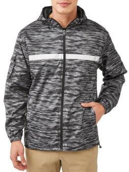 PNW Men's full zip rain jacket Windbreaker Coat Vest Activew