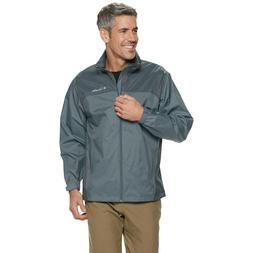 Columbia Men's Glennaker Lake Full ZIp Raincoat Jacket Dark
