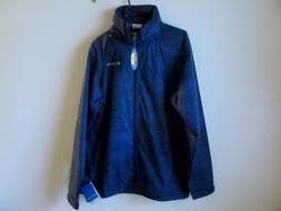 Men's Columbia Glennaker Lake Printed Rain Jacket - Size XL