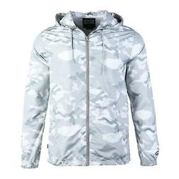 men s hood lightweight windbreaker rain jacket