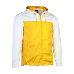 Beautiful Giant Men's Hooded Windbreaker Outdoor Rain Jacket