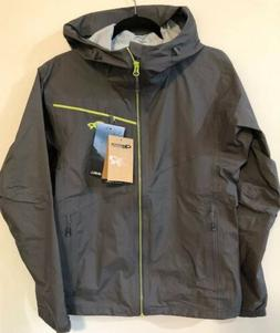 Outdoor Research Men's Interstellar Hiking Rain Jacket Pewte