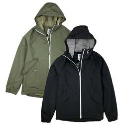 Timberland Men's Lightweight Waterproof Hooded Rain Jacket A