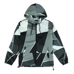 Beautiful Giant Men's Lightweight Windbreaker Jacket Plus Si
