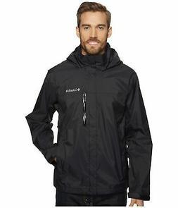 Columbia Men's Pouration Waterproof Rain Jacket, B - Choose