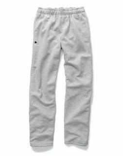 men s powerblend sweats open bottom pants