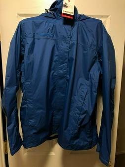 Men's Marmot PreCip Rain Jacket XL Dark Cerulean 3696