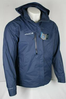 Columbia Men's Puddletown Omni-Tech Packable M or L Rain/Win