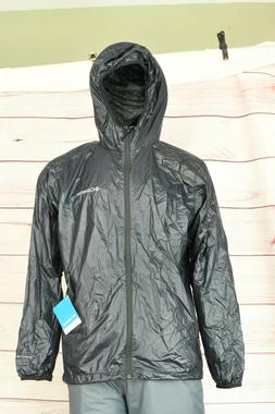 Columbia Men's Ridge Cabin Omni-Heat EXS Rain Black Jacket U