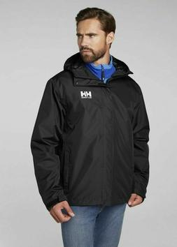 Helly Hansen Men's Seven J Rain Jacket with Hood, Size Mediu