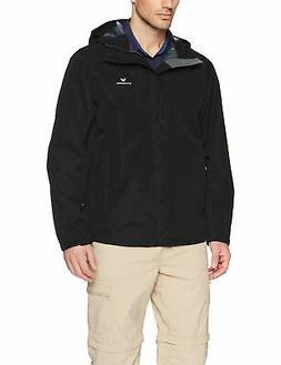 White Sierra Men's Sierra Guide 2.5 Layer Rain Jacket Black