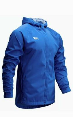 New Balance Men's Sport Rain Jacket Blue Medium