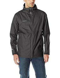 White Sierra Men's Trabagon Color Block Rain Shell, XX-Large