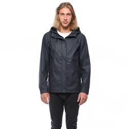 Rokka&Rolla Men's Slicker Waterproof Rain Jacket Windbreaker