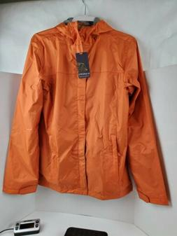 Gioberti Men's Waterproof Rain Jacket S   Orange. Lightweigh